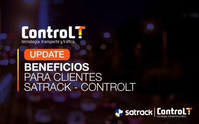 Beneficios integración Satrack-ControlT