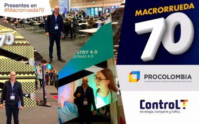 Presentes en la #Macrorrueda70 de Procolombia