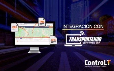 Integración ControlT – Transportando ERP