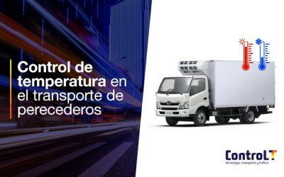 Control de temperatura en el transporte de perecederos