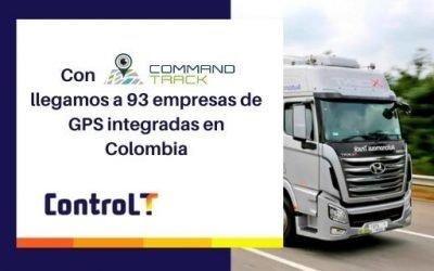 Integración con empresas de GPS | +93 Empresas integradas