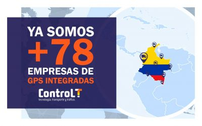 Integración con empresas de GPS   +78 Empresas integradas