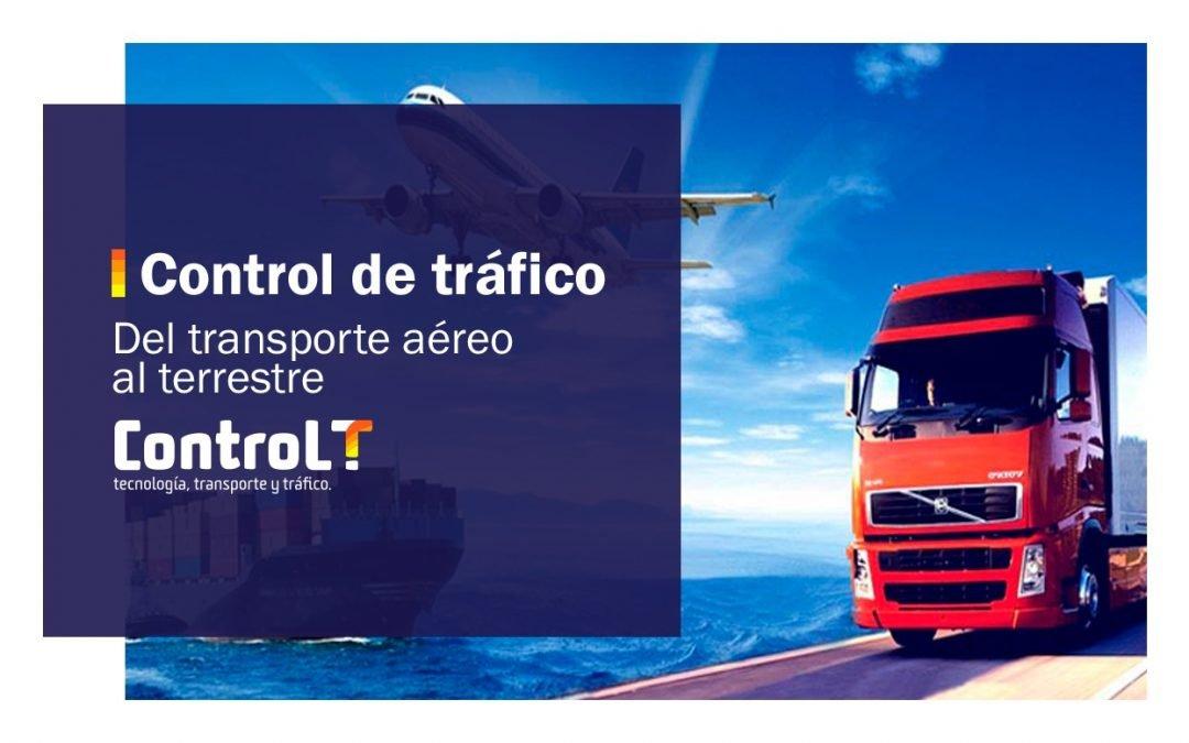Control de tráfico: del transporte aéreo al terrestre