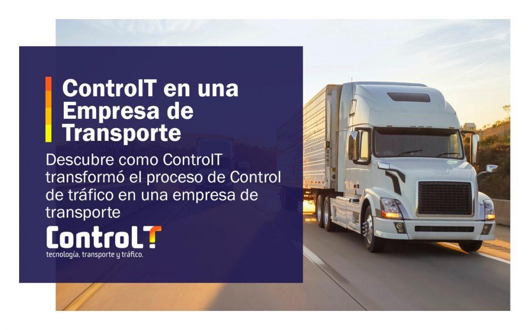 ControlT en una empresa de transporte