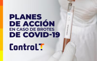 Como con ControlT pueden trazar planes de acción en caso de brotes de Covid-19