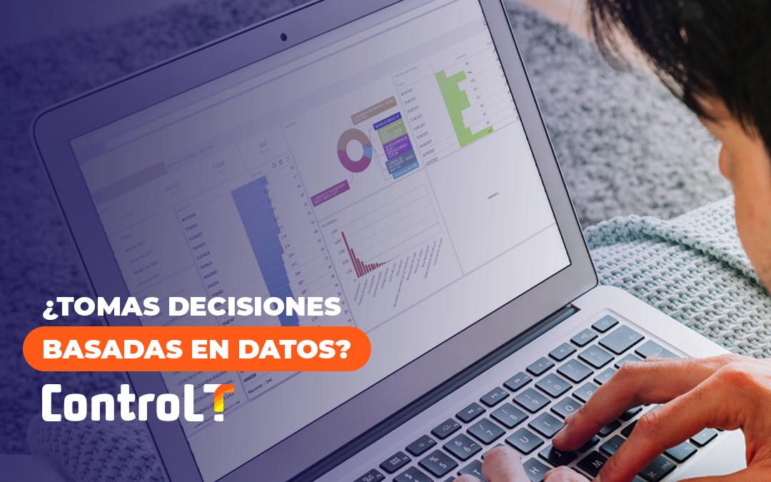 ¿Tomas decisiones basadas en datos?